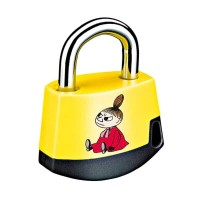 Moomin Little My Padlock Gembok - Yellow Black