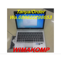 Termurah Laptop HP 2560p Core I5 4gb 320gb Second Bergaransi