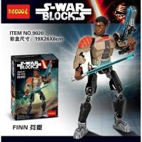 Figure Star wars lego starwars Finn decool 9020