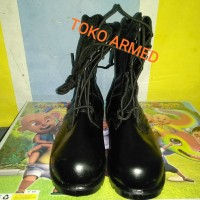 Sepatu PDL TNI AD jatah Pusdik