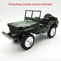 Rim Roda Pengganti Bahan Metal Durable untuk RC Mobil JJRC q65 1 16