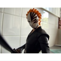 NEW Play Arts Kai Bleach Ichigo Kurosaki Figure Square Enix Bleach