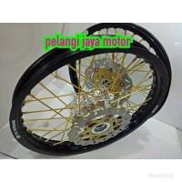 Velg Tk Original Sepaket Motor Satria fu New - Lama - Jari - Tromol