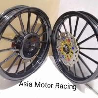velg andong Racing V Rossi 160 185 ring 14 Warna gold motor vario