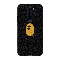 Hardcase Xiaomi Redmi Note 8 Pro A Bathing Ape Black X00041 Case Cover