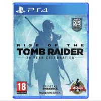 PS4 RISE OF THE TOMB RAIDER 20 YEAR CELEBRATION REG 2 collection