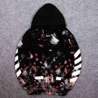 Jaket Sweater Hoodie Jumper Fashion Pria Terbaru Off White Galaxy Hoo