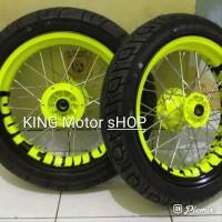 velg KLX150 dan d traker 150 velg supermoto mini ring 14 Full set