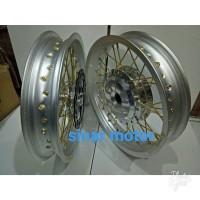 Velg Champ Buat Motor Mio Sporty. Soul. Tapak Lebar 215 250 Ring 14