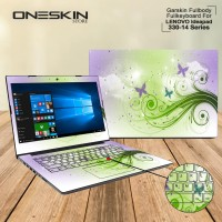 Garskin Laptop Cover Lenovo Ideapad 330-14IKB-81G200-1RID 1TID 33MJ FB