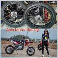 paketan set Honda CRF 150 L Sepaket Velg Set Supermoto super moto H