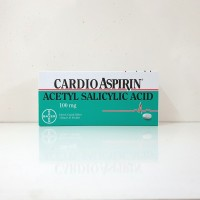 Cardio Aspirin 100 mg tablet 30s