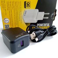 Adaptor Charger V-GeN VTC1-03 Fast Charging QC 3.0 Travel Charger VGEN