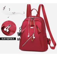 Tas Ransel Import Backpack Wanita Punggung Sekolah Kuliah Kerja 143