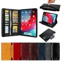 premium flip cover leather ipad mini 4 case book flipcase case card