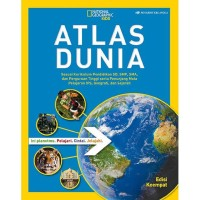 Buku National Geographic Kids ATLAS DUNIA Edisi Keempat