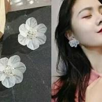 anting fashion korea bunga EFK012 / earring fashion korea