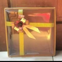 Kotak seserahan | box kue ukuran 25x25 cm