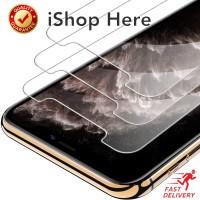 3 Buah Premium Tempered Glass / Anti Gores iPhone X XS XR 11 Pro Max