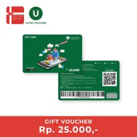 Ultra Voucher Fisik Rp 25.000 (Special Gift Card)