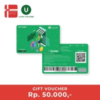 Ultra Voucher Fisik Rp 50.000 (Special Gift Card)