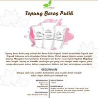 Tepung Beras Putih Organik ( Tepung MPASI)