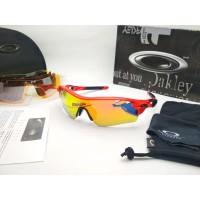 Kacamata sepeda sport Radar Lock 5 lemsa polarized Premium fire