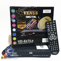 Receiver Ninmedia Estilo HD Venus TiviPlus 12 Bulan Free Chinasat11 Ku