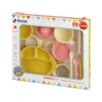 richell feeding & cooking set