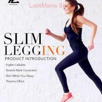 YPL Slim Legging stocking Legging Fitnes Olahraga Hitam