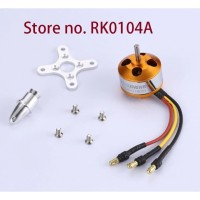 Motor Brushless DXW A2208 1100KV 2S - 4S Outrunner RC FPV Fixed Wing