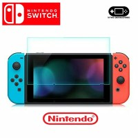 Tempered Glass LCD Anti Gores Layar Screen Protector Nintendo Switch