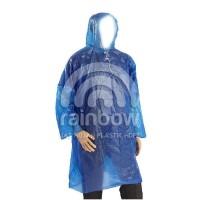 jas hujan plastik tebal - bisa di pakai berkali kali - PONCO BUDGET
