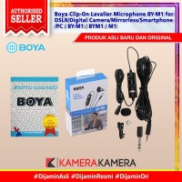 BOYA BY-M1 Lavalier Microphone for smartphones DSLR Camcorders Origina