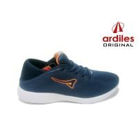 ARDILES VOLGA - Sepatu Pria Sneaker Running Gaya - Biru