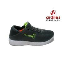 ARDILES VOLGA - Sepatu Pria Sneaker Running Gaya - Abu