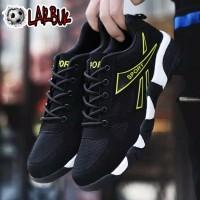 Sepatu Pria Sneakers/ Olahraga/ Lari Casual Bahan Mesh YELOW