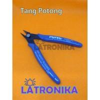 Tang Potong Elektronik Per Tang Potong Kaki Komponen Kabel Tajam Kuat