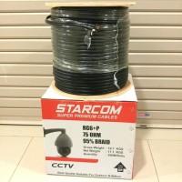 Kabel CCTV Coaxial 300M RG 6 plus Power