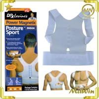 Penyangga Punggung Bungkuk / Power Magnetic Posture Support