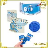 Pembersih Toilet Otomatis Warna Biru - Automatic Toilet Cleaner -Flush