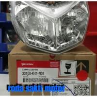 LAMPU DEPAN HONDA SUPRA X 125 FI ORIGINAL LIGHT ASSY HEAD