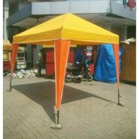 tenda cafe 2x3 tenda stand promosi jualan tenda hanya atap saja