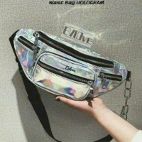 Tas Wanita Victoria's Secret Waist Bag 6553# Bahan : Kanvas Warna :