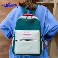 Tas Wanita 【Smart Fish】Ransel Korean Fashion Backpack Jalan Travel