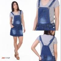 Jumpsuit&Overall Rok pendek Jumsuit Kodok Jeans Import Wanita JSK