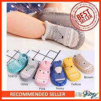 Sepatu Kaos Kaki Anti Slip Karakter Sepatu Prewalker Anak Sepatu Bayi