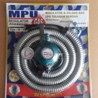 selang paket regulator gas meter MPU SNI