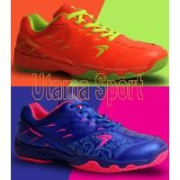 Sepatu Badminton / Bulutangkis Flypower Losari 2 / Losari2 Blue Orange