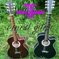 gitar akustik yamaha untuk pemula murah bonus softcase senar cadang